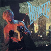 David Bowie Lets Dance Album Cover