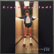 Linda Ronstadt Livin In The Usa Album Cover