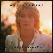Rod Stewart Foot Loose & Fancy Free Album Cover